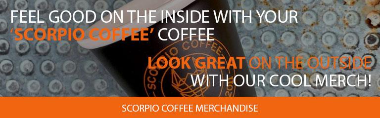 Scorpio Coffee Merchandise